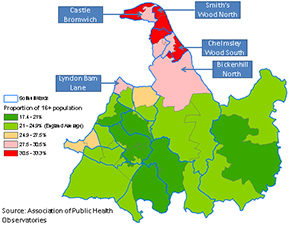 adult obesity in Solihull