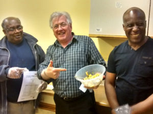 Maypole Methodist Church Group made mango and avocado salsa