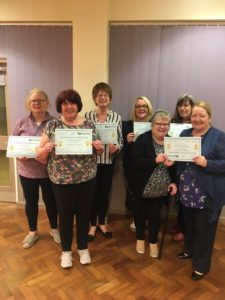 First LUFL group with their completion certificates