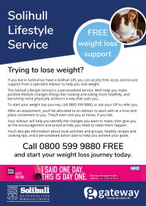 Solihull weight loss leaflet